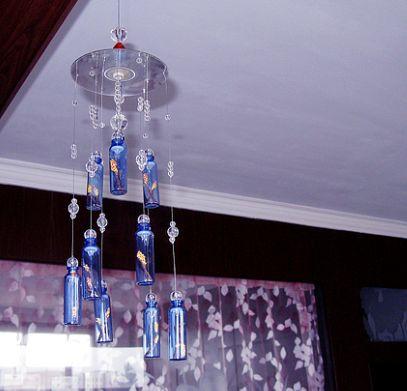 口服液玻璃瓶风铃图片